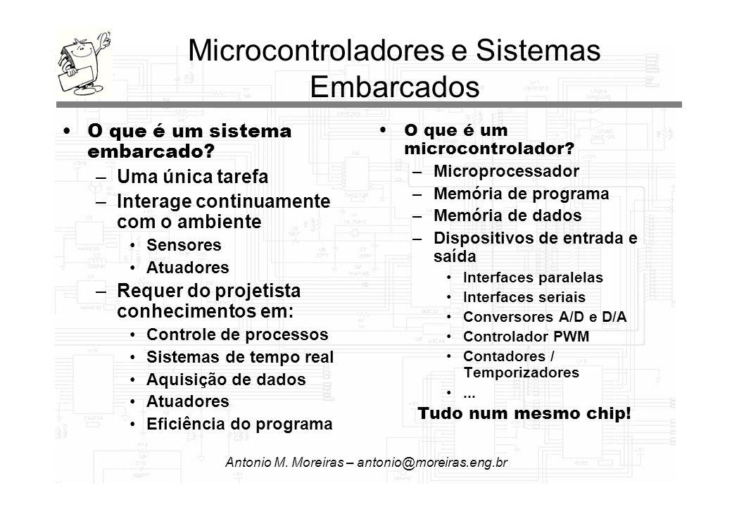 Microcontroladores e Sistemas Embarcados