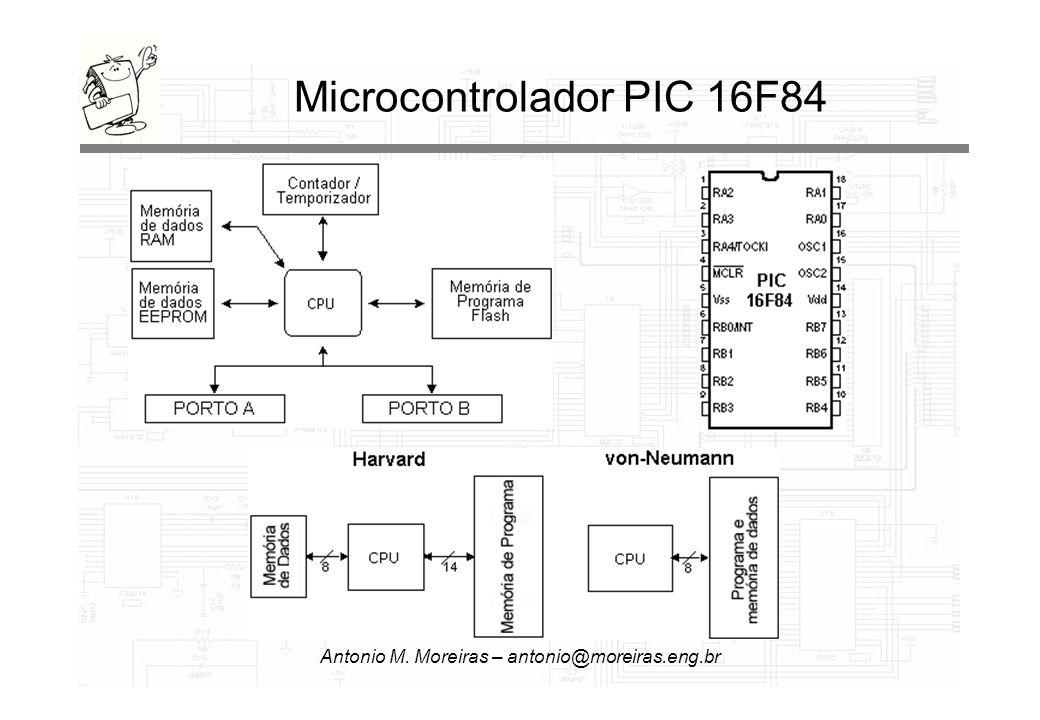 Microcontrolador PIC 16F84