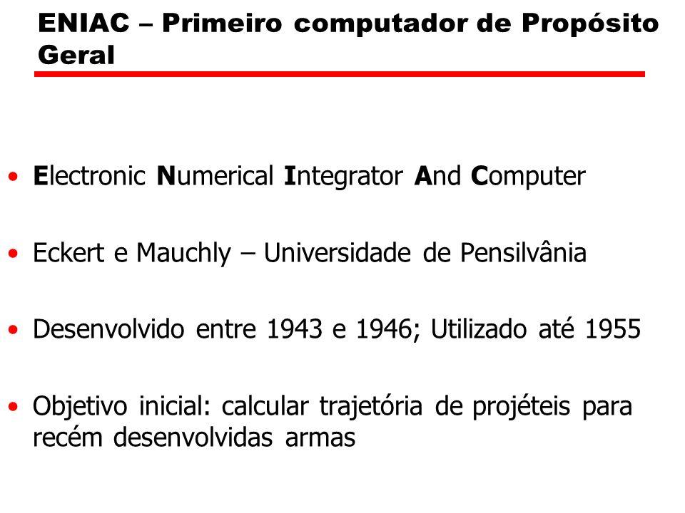 ENIAC – Primeiro computador de Propósito Geral