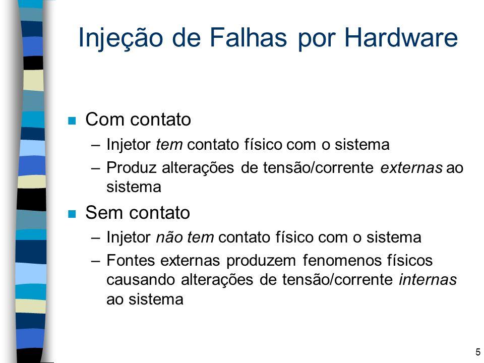 Injeção de Falhas por Hardware