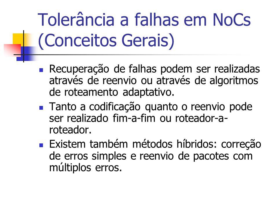 Tolerância a falhas em NoCs (Conceitos Gerais)