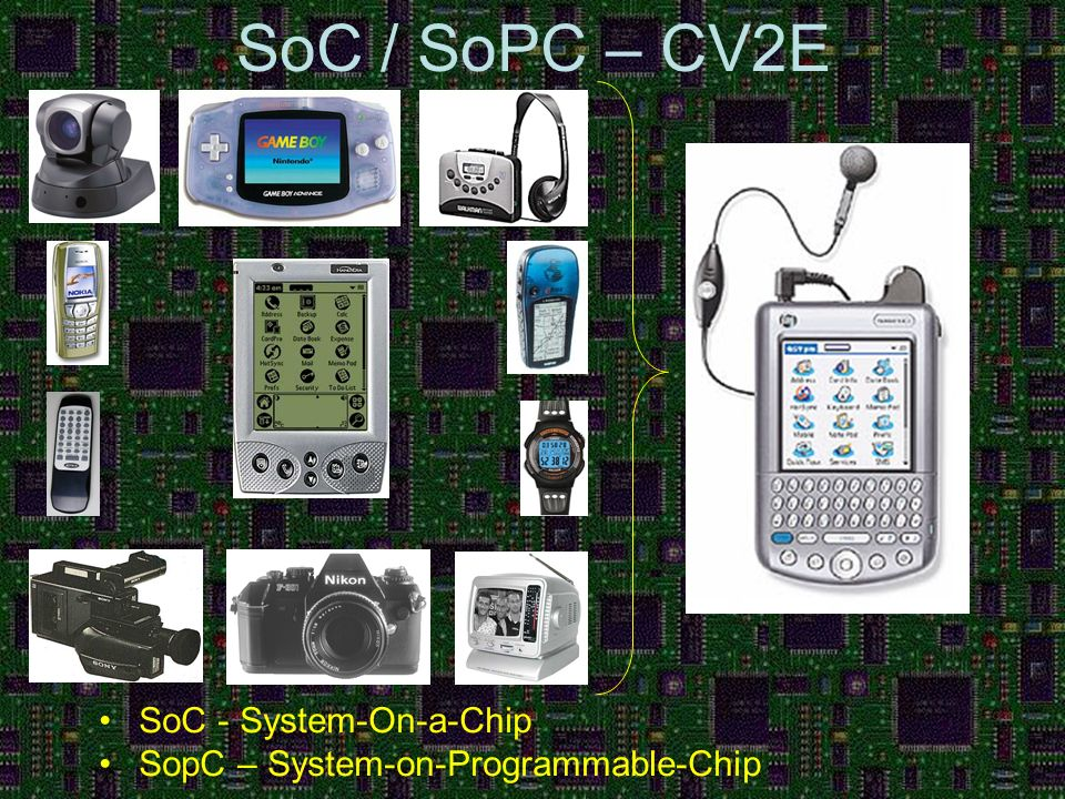 SoC / SoPC – CV2E SoC - System-On-a-Chip