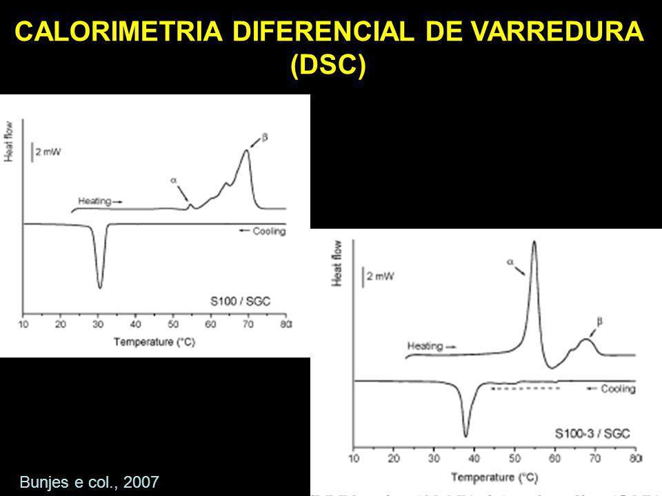 CALORIMETRIA DIFERENCIAL DE VARREDURA (DSC)