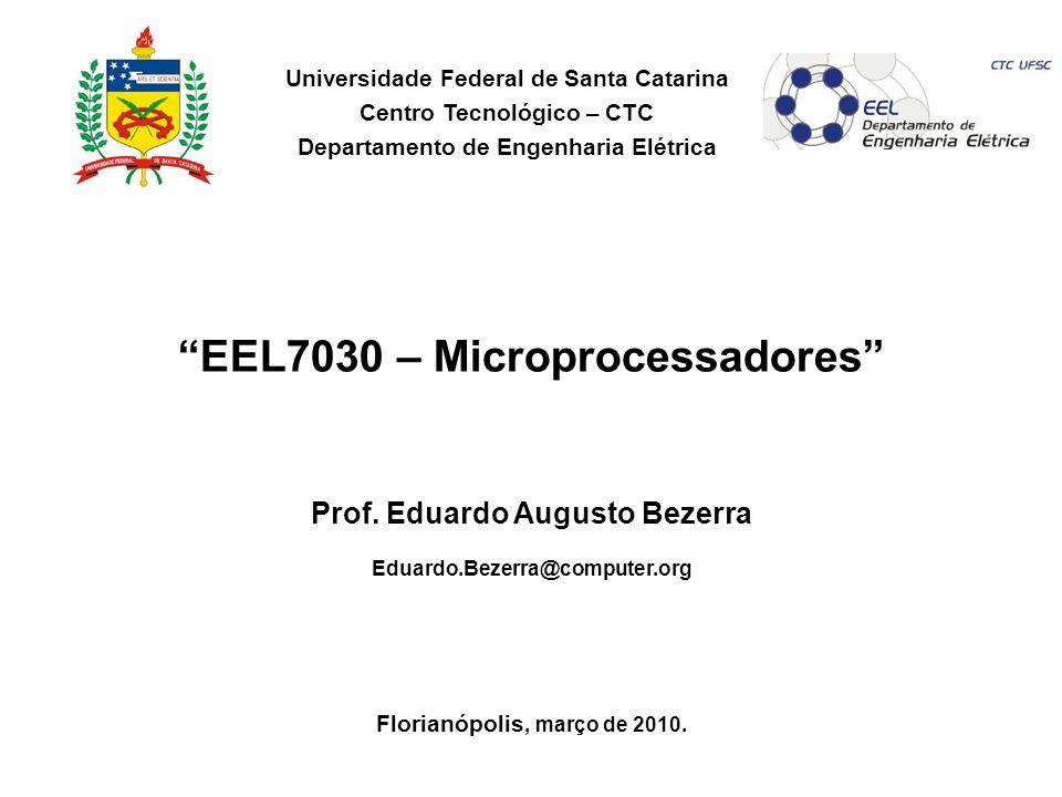 EEL7030 – Microprocessadores