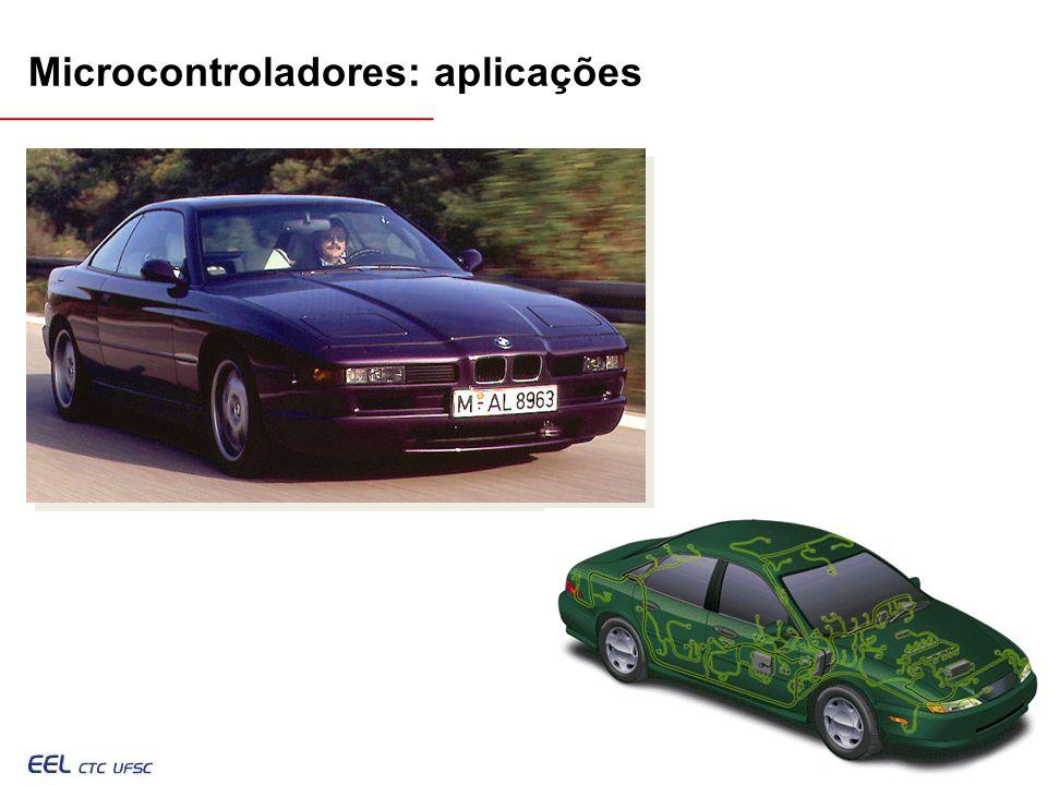 Microcontroladores: aplicações