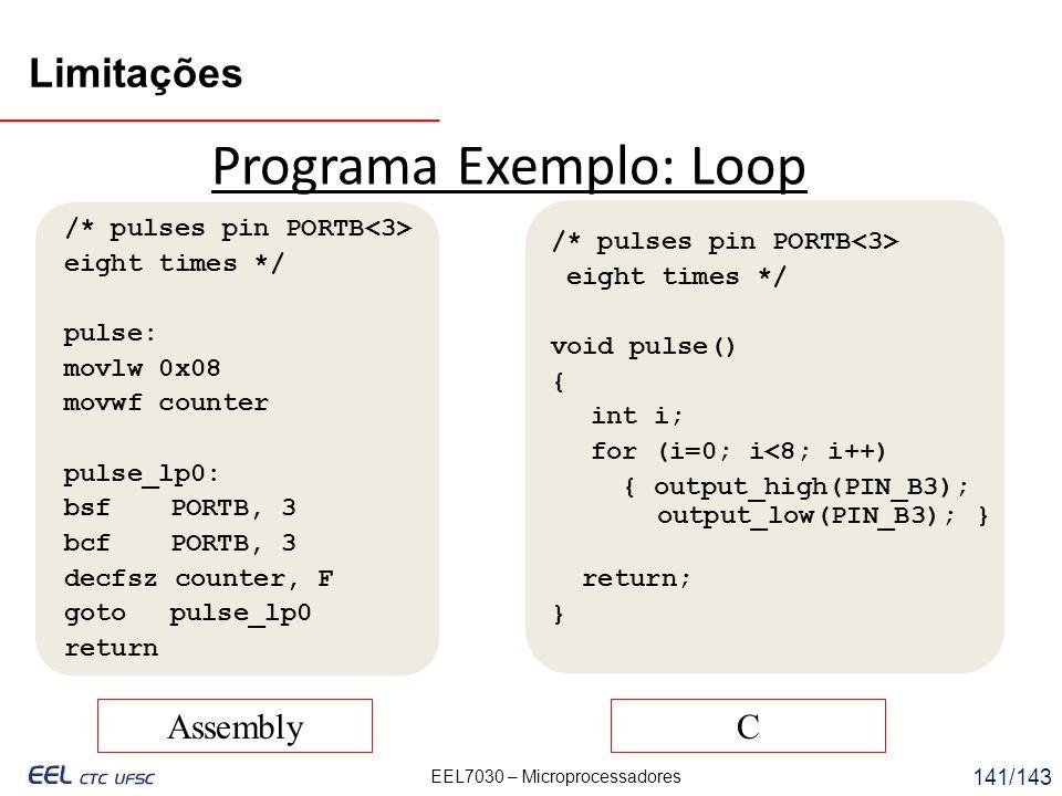 Programa Exemplo: Loop