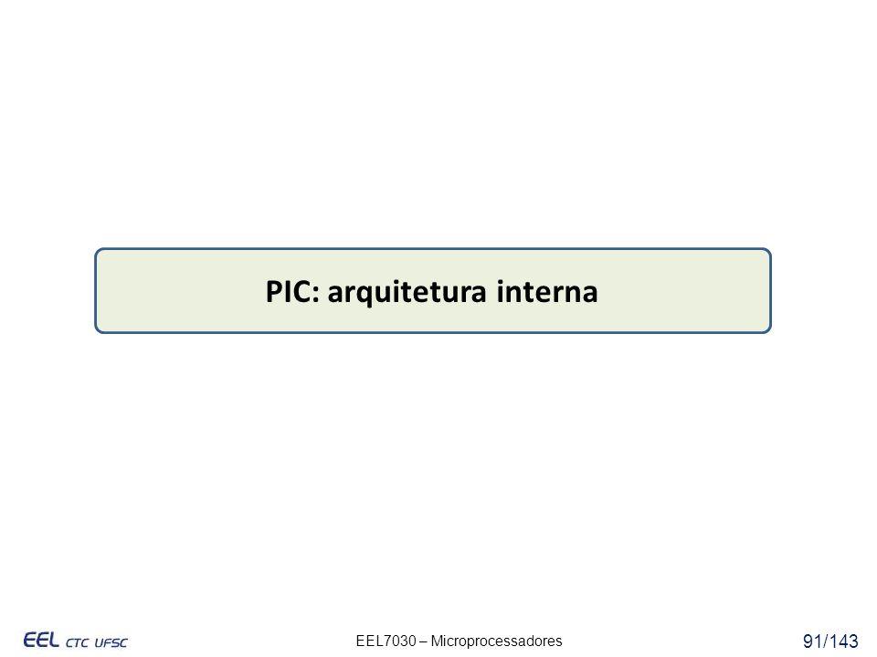 PIC: arquitetura interna