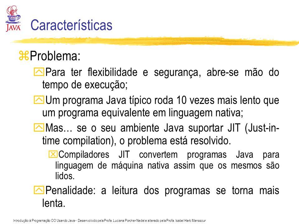 Características Problema: