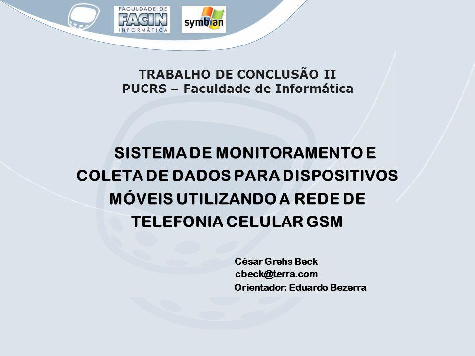 TRABALHO DE CONCLUSÃO II PUCRS – Faculdade de Informática