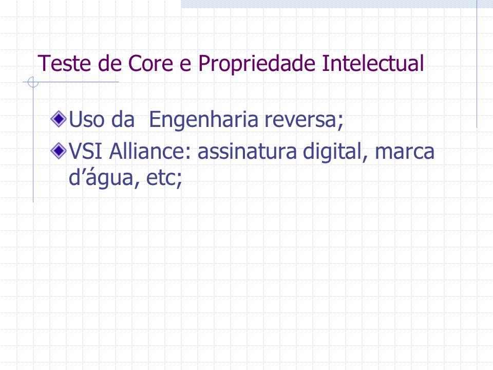 Teste de Core e Propriedade Intelectual