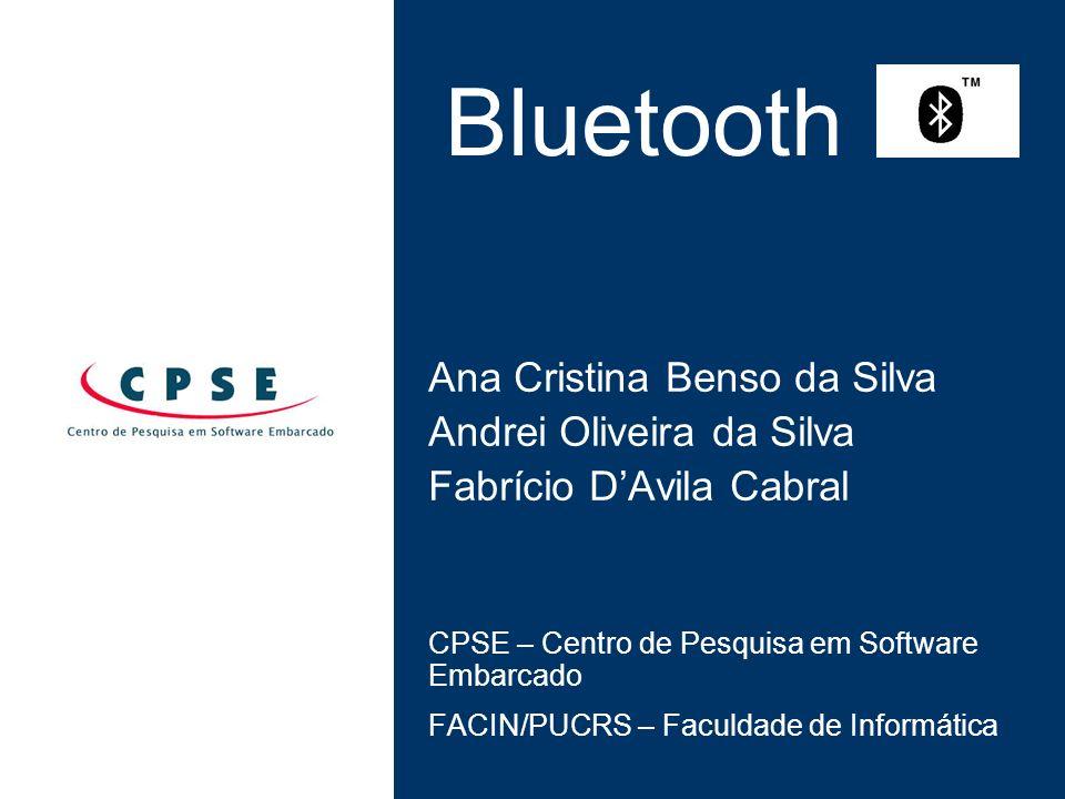 Bluetooth Ana Cristina Benso da Silva Andrei Oliveira da Silva
