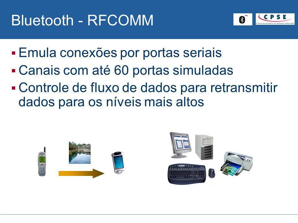 Bluetooth - RFCOMM Emula conexões por portas seriais