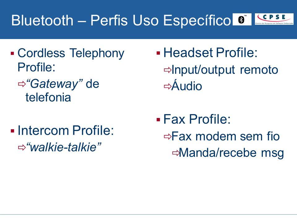 Bluetooth – Perfis Uso Específico