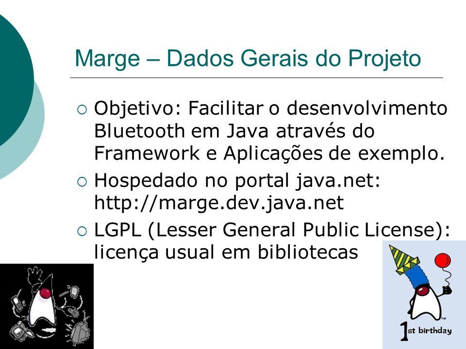 Marge – Dados Gerais do Projeto