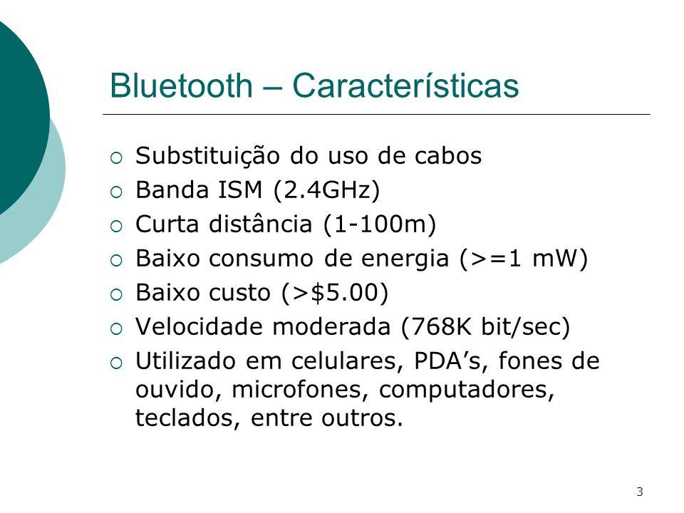 Bluetooth – Características