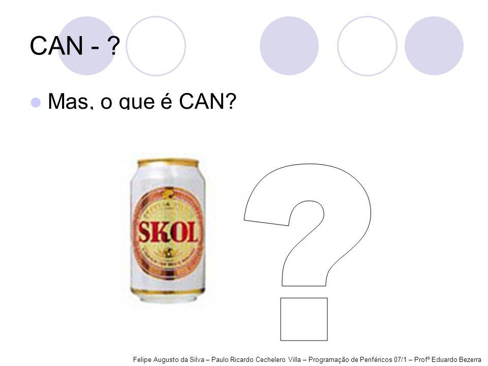 CAN - . Mas, o que é CAN. .