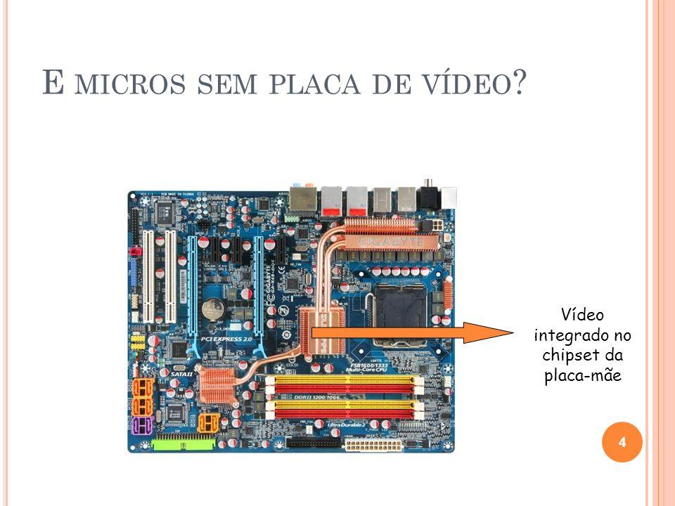 E micros sem placa de vídeo
