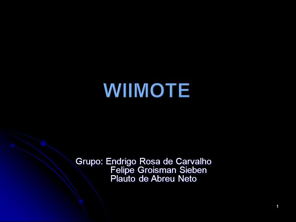 Wiimote Grupo: Endrigo Rosa de Carvalho Felipe Groisman Sieben