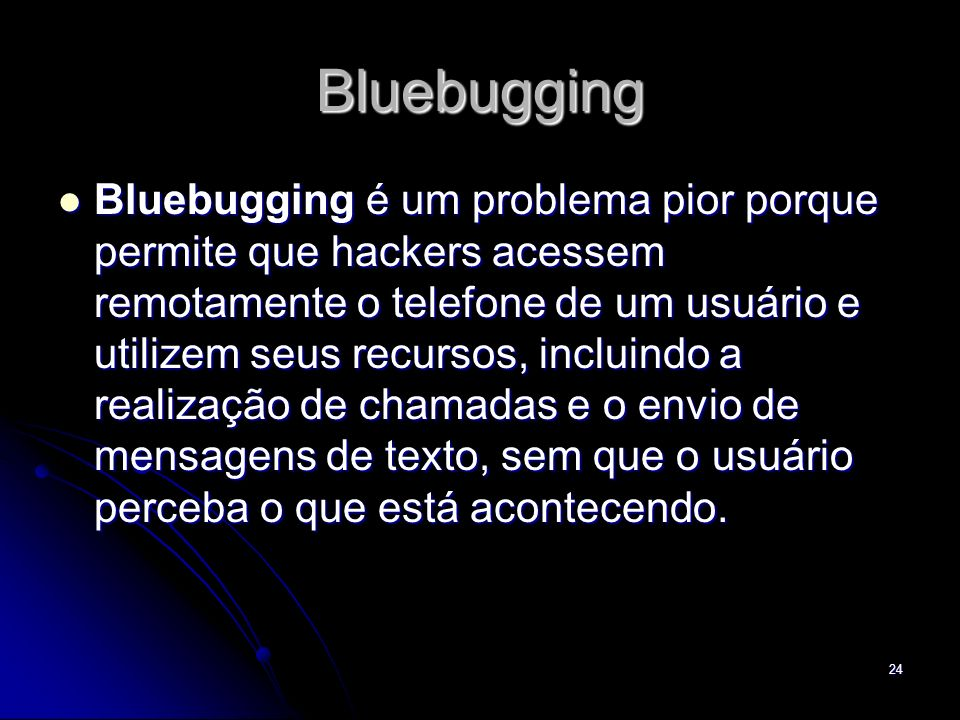 Bluebugging