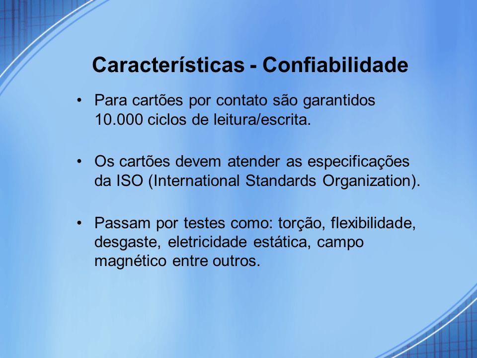 Características - Confiabilidade
