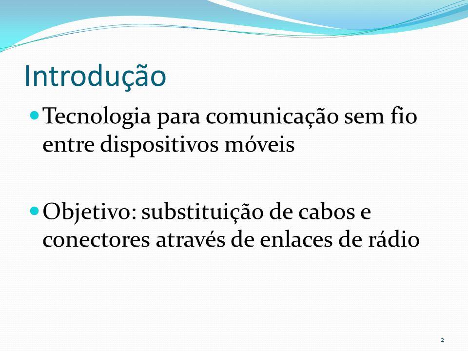 IntroduçãoTecnologia para comunicação sem fio entre dispositivos móveis.