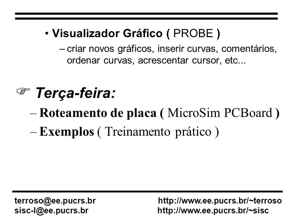 Roteamento de placa ( MicroSim PCBoard )