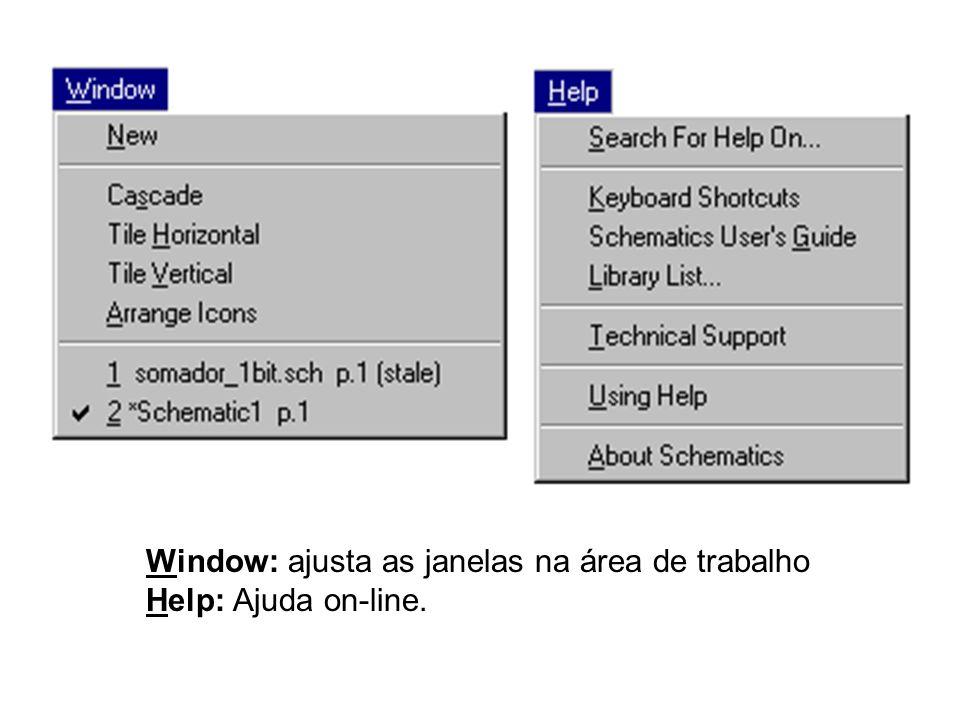 Window: ajusta as janelas na área de trabalho