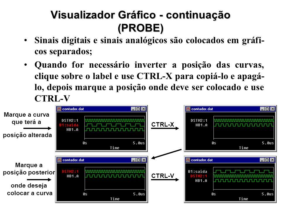 Visualizador Gráfico - continuação (PROBE)