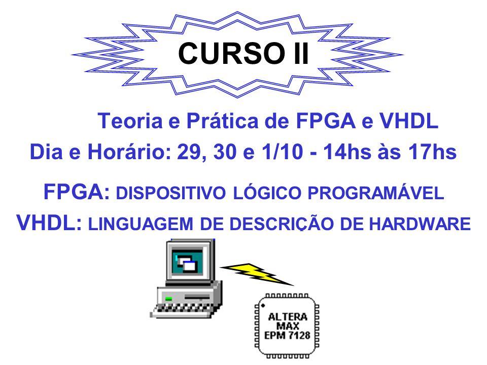 CURSO II Teoria e Prática de FPGA e VHDL