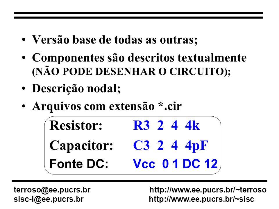 Resistor: R3 2 4 4k Capacitor: C3 2 4 4pF