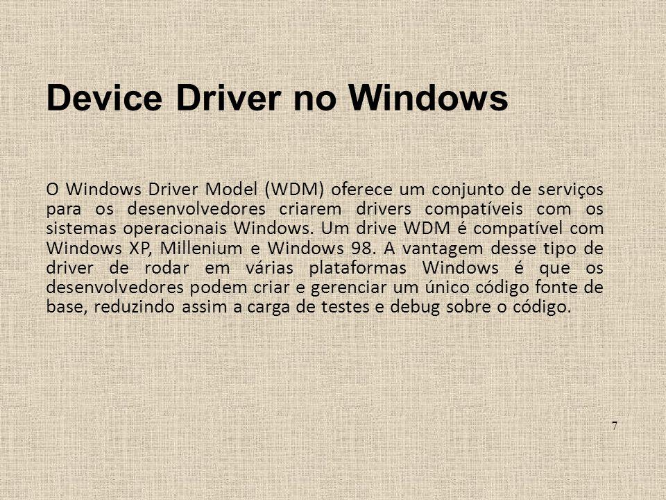 Device Driver no Windows
