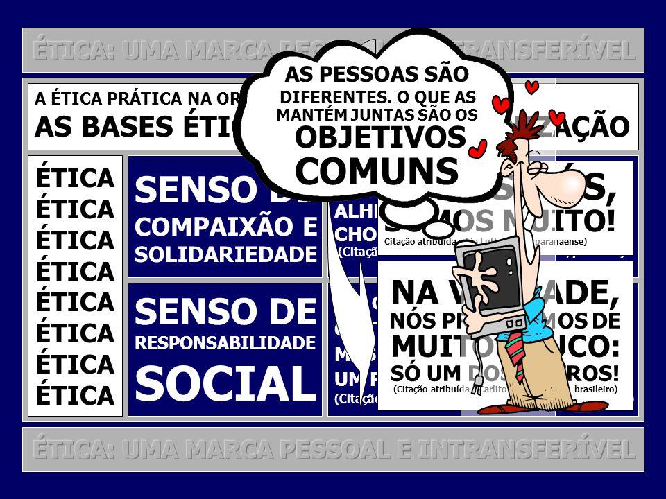 SOCIAL COMUNS TODOS NÓS, SENSO DE SENSO DE NA VERDADE, SOMOS MUITO!