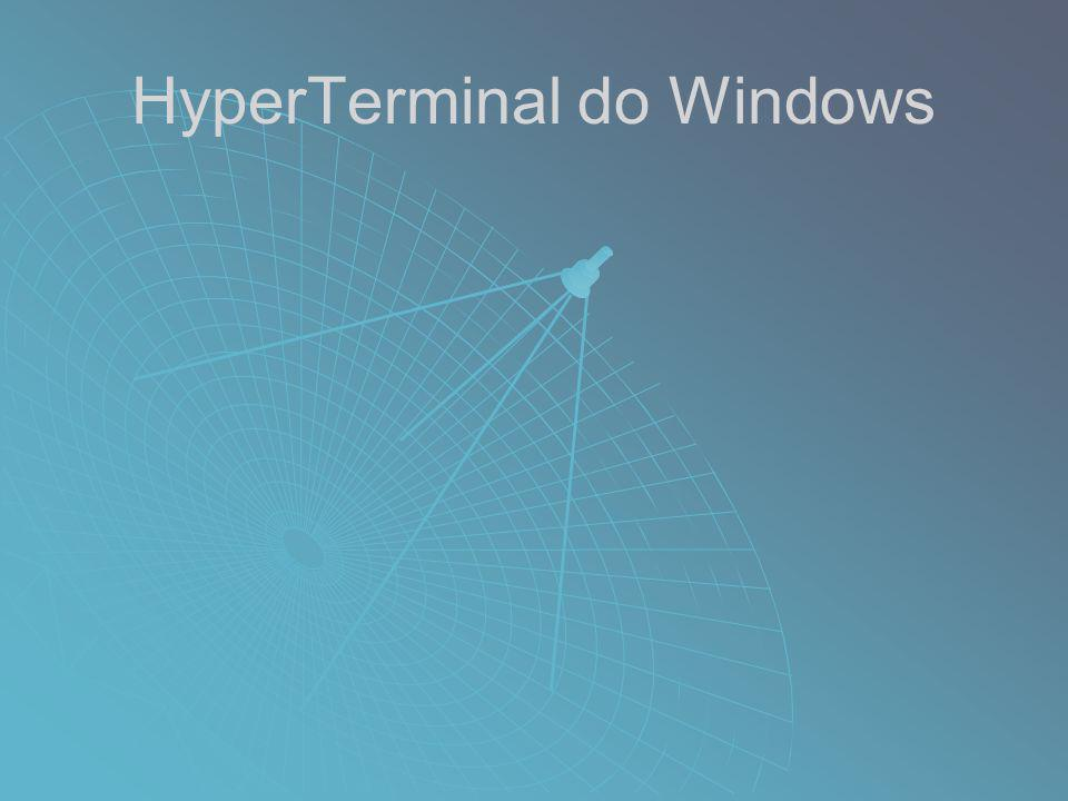 HyperTerminal do Windows