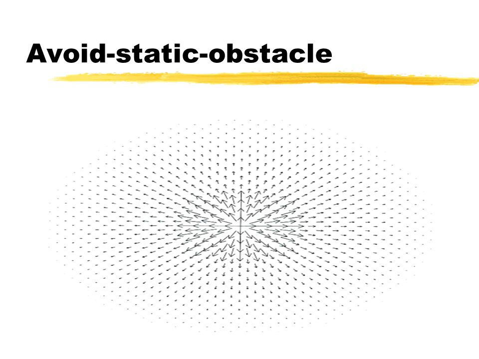 Avoid-static-obstacle