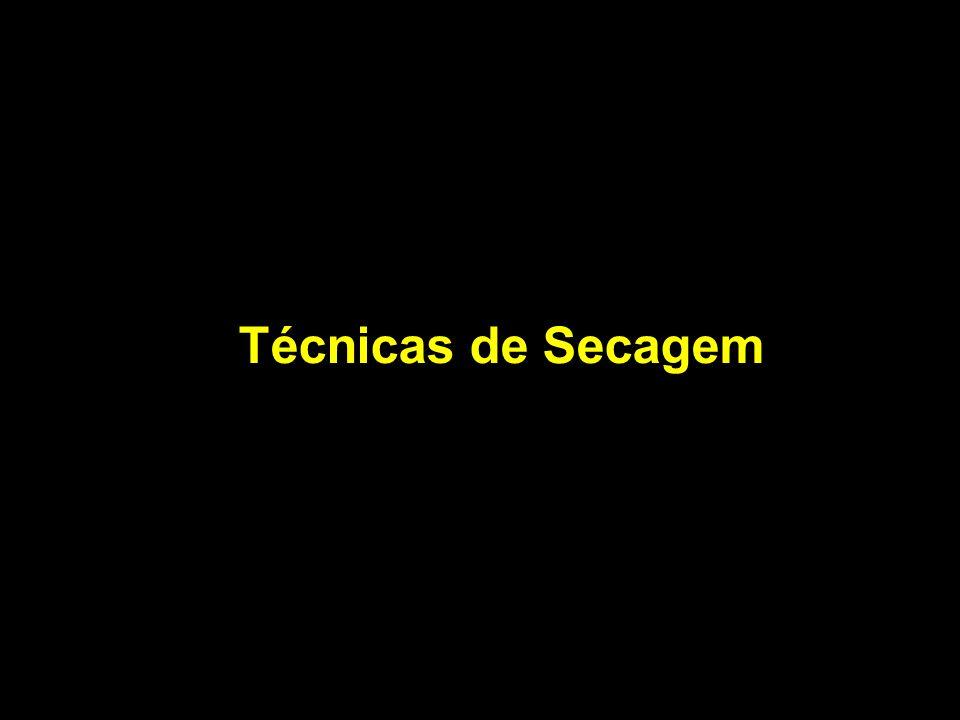 Técnicas de Secagem