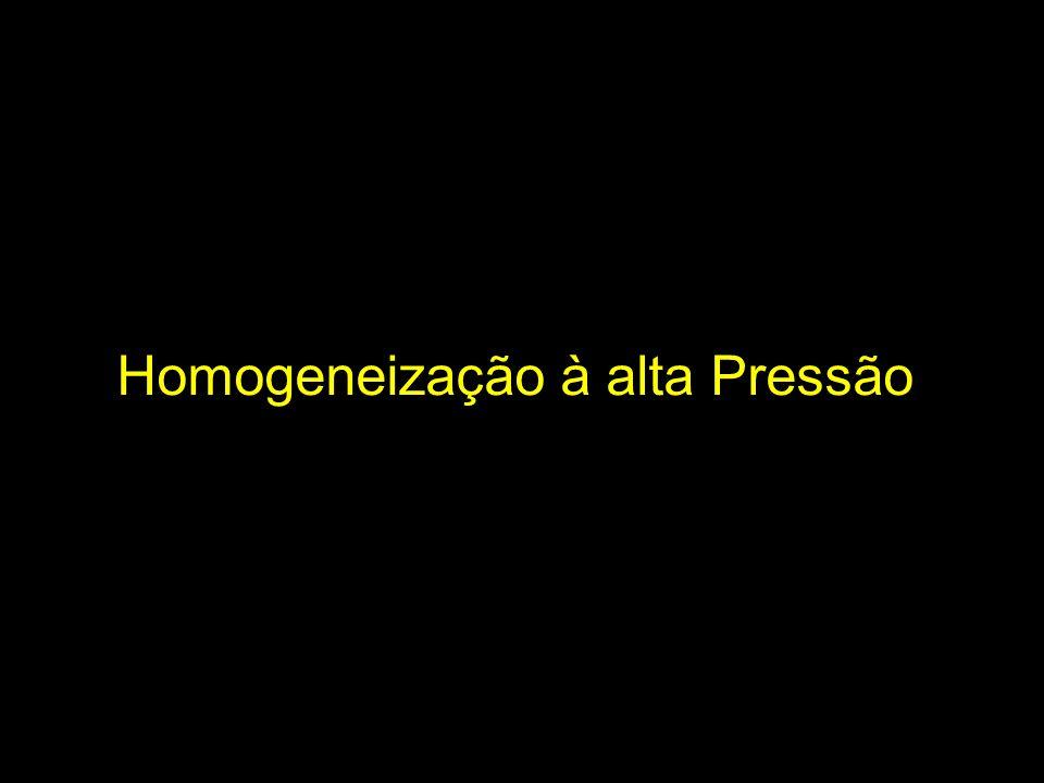 Homogeneização à alta Pressão