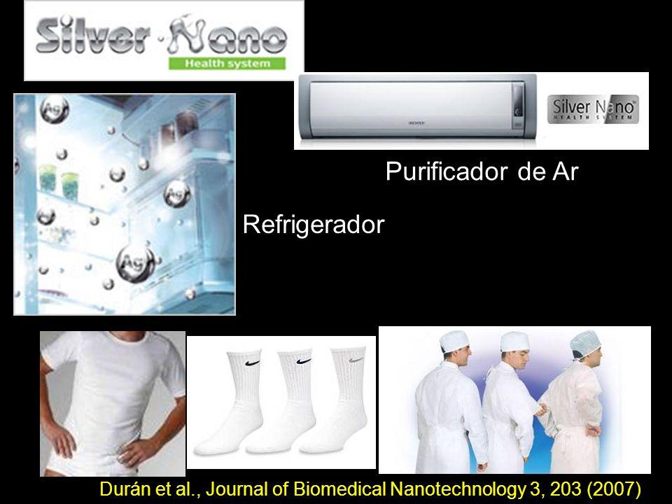 Purificador de Ar Refrigerador