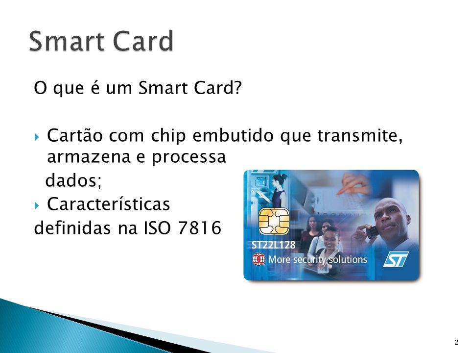 Smart Card O que é um Smart Card
