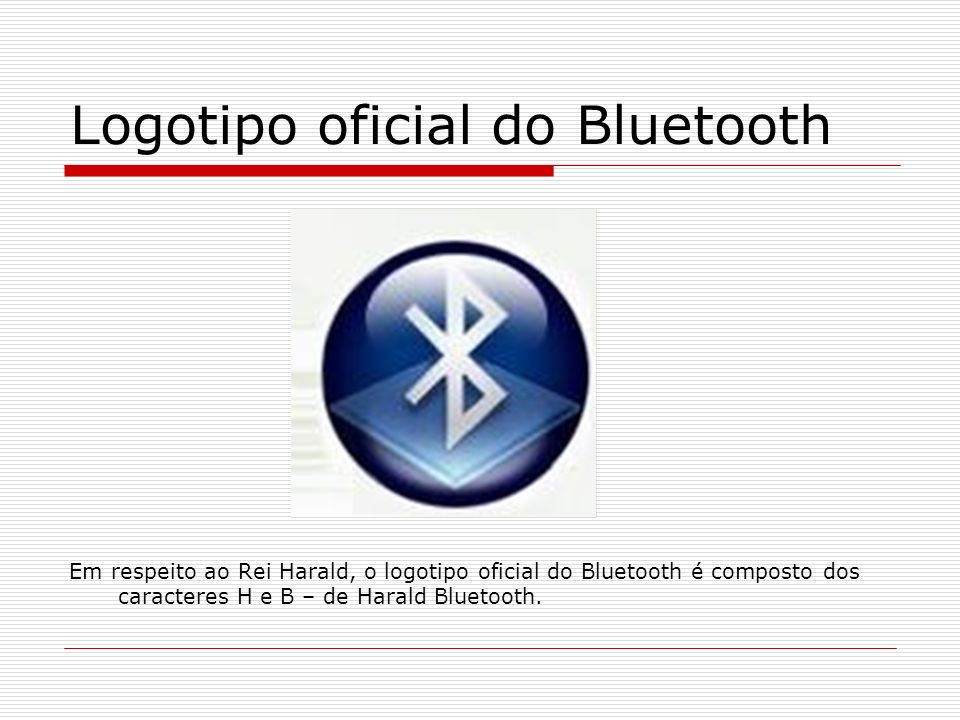 Logotipo oficial do Bluetooth