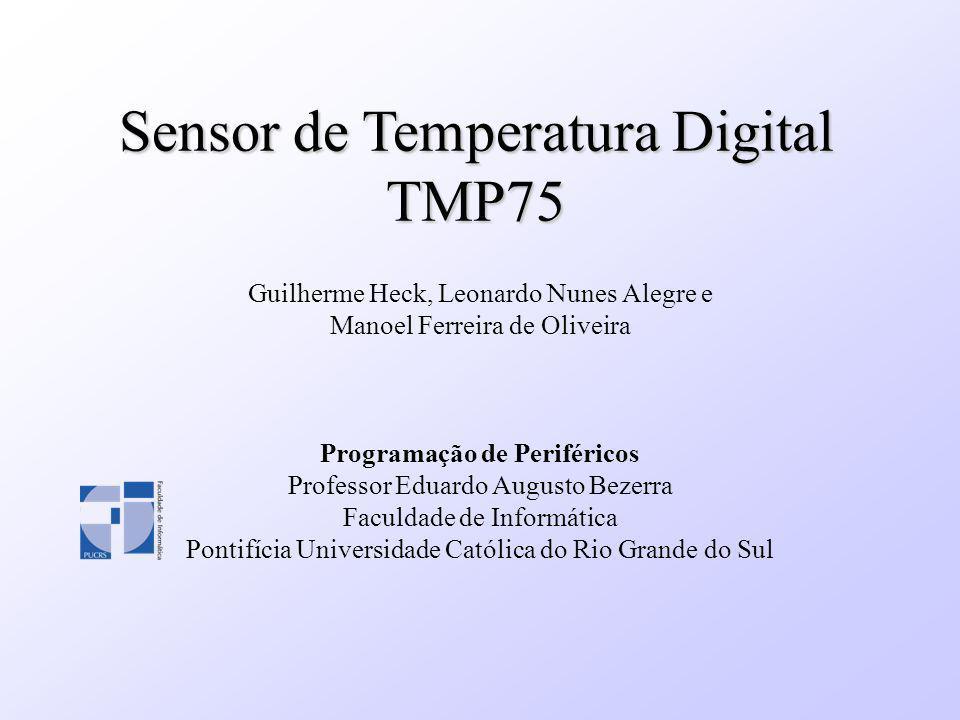Sensor de Temperatura Digital TMP75