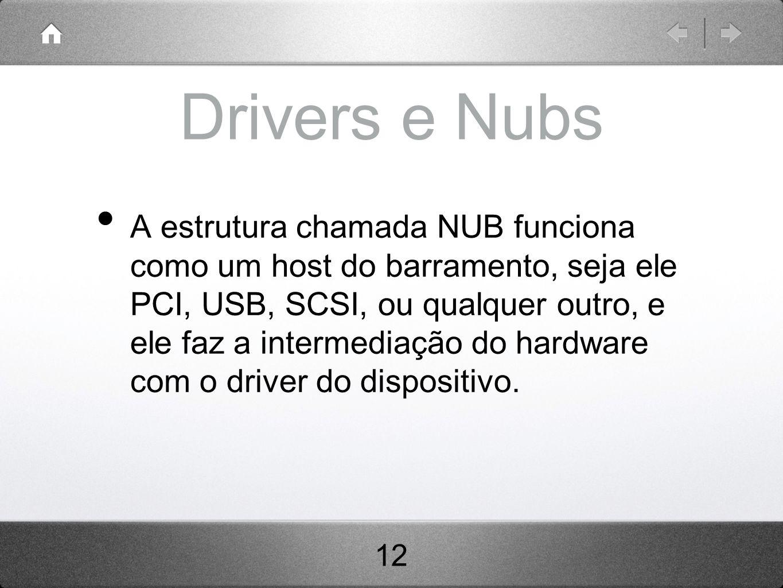 Drivers e Nubs