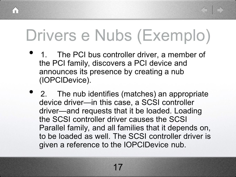 Drivers e Nubs (Exemplo)