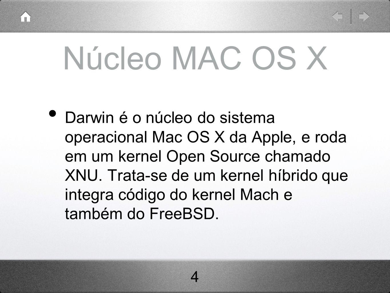 Núcleo MAC OS X