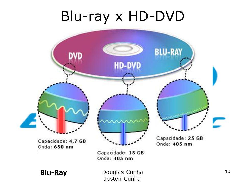 Blu-ray x HD-DVD Blu-Ray Douglas Cunha Josteir Cunha