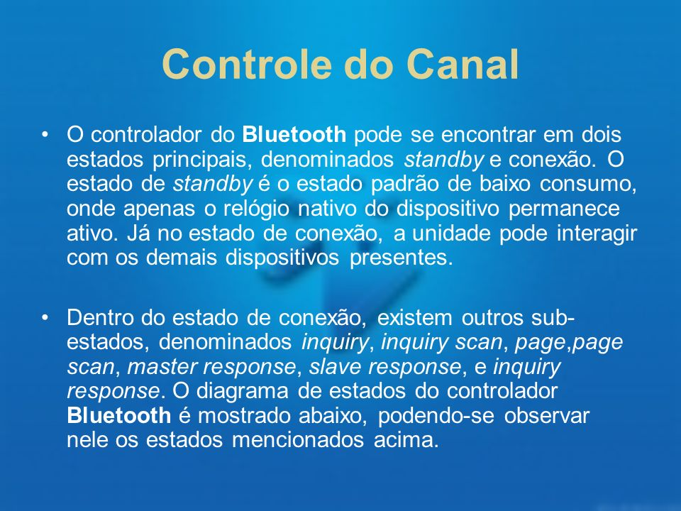 Controle do Canal