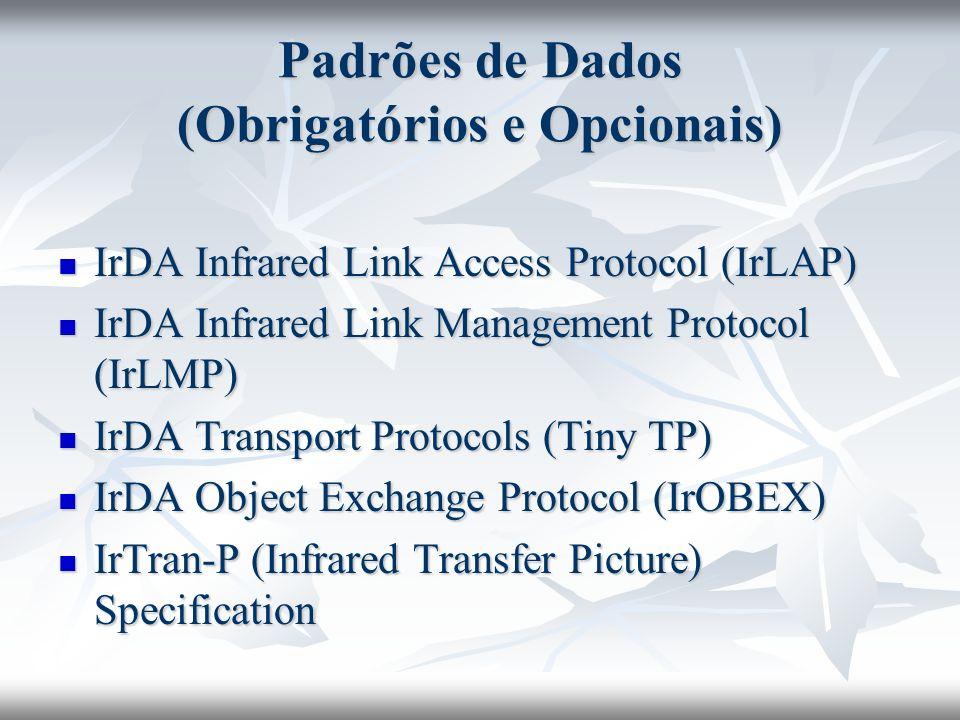 Padrões de Dados (Obrigatórios e Opcionais)