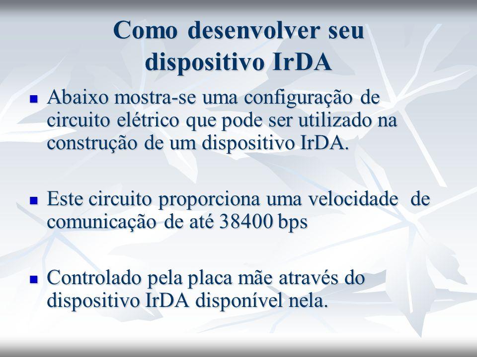 Como desenvolver seu dispositivo IrDA