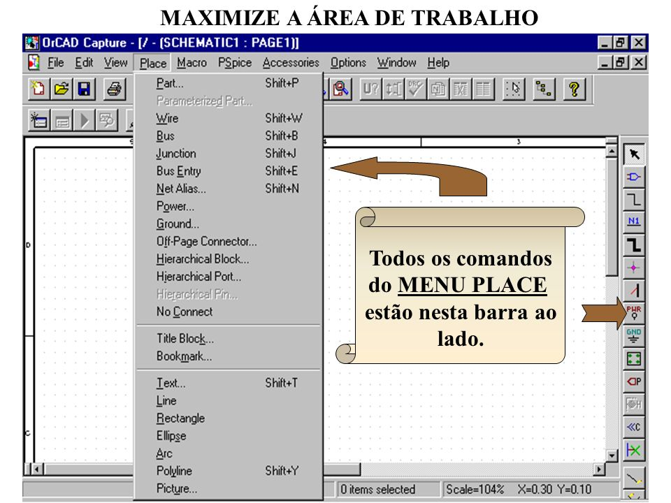 MAXIMIZE A ÁREA DE TRABALHO