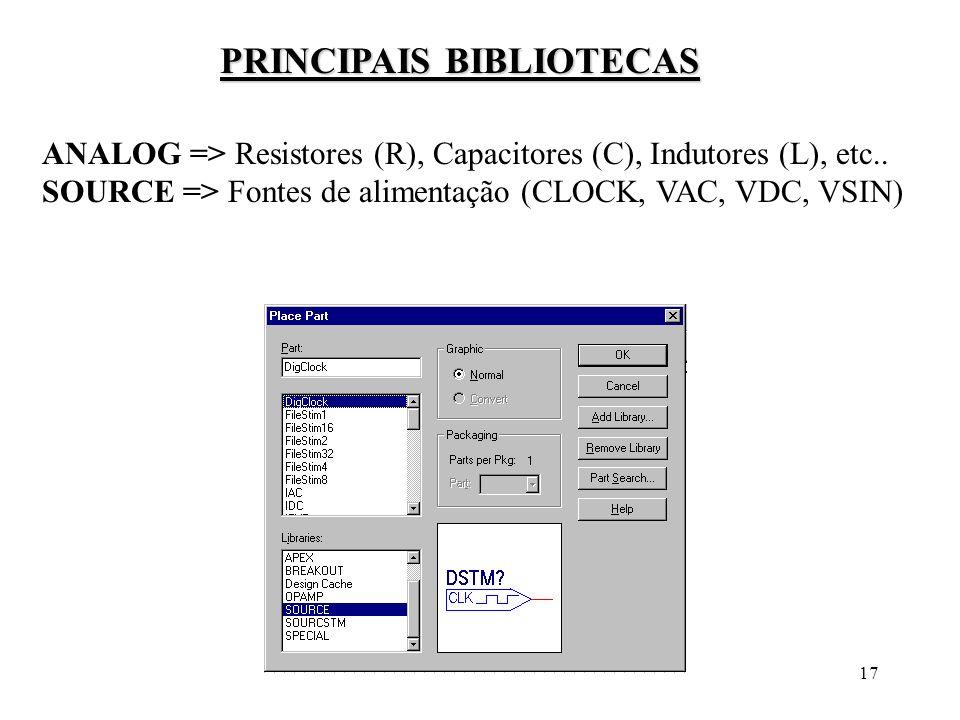 PRINCIPAIS BIBLIOTECAS
