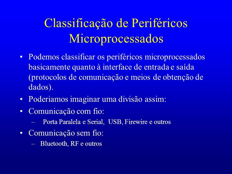 Classificação de Periféricos Microprocessados